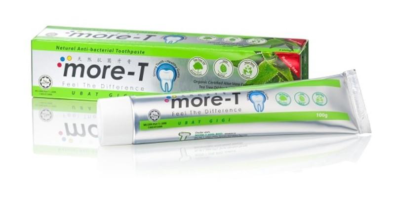 天然抗菌牙膏